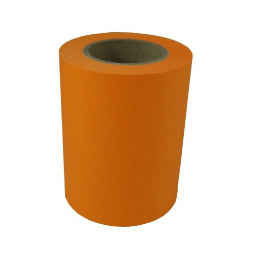 "Haftnotizrolle brillant orange ""proffice 1929"" 60mm x 10m 1"" Pappkern"
